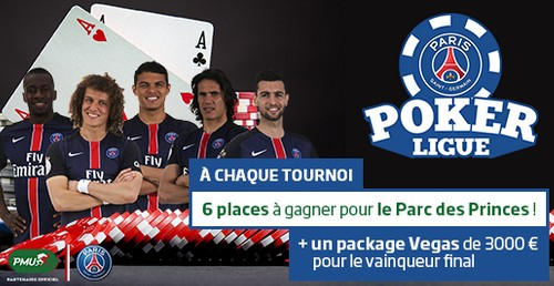 Paris Poker Ligue 2016 PMU